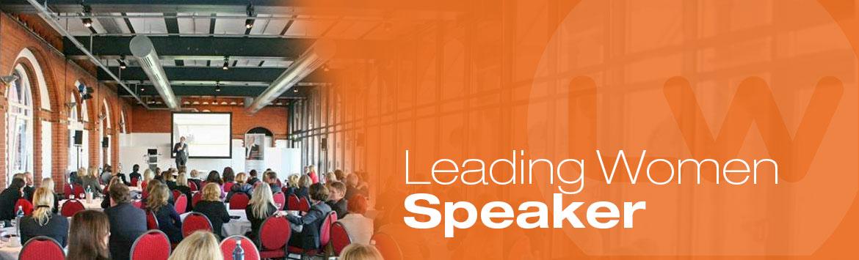 Leading Women Speaker